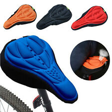 Cycling Bike Bicycle 3D Silicone Gel Pad Saddle Seat Comfort Soft Cushion Cover