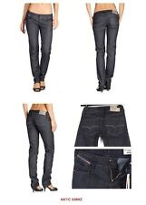 NWT WOMENS DIESEL 008WZ STRETCH MATIC made in italy skinny jeans  $170  24-25