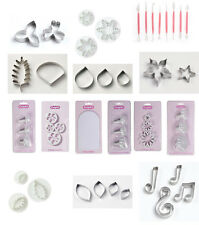 Culpitt Tools. Plunger Cutters, Cookie Cutters, Metal Sugarcraft Icing Equipment