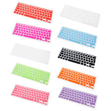 "Silicone UK EU Keyboard Cover Skin For Apple MacBook Mac Air 11"" 11.6"" 11 inch"