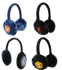 Football Club Official Crested Ear Muffs Faux Fur  New Arsenal Liverpool Man Utd