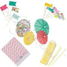 Shabby Chic Luxury Food Flags Vintage Style Tea Party Accessories Hen Party
