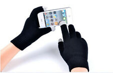Mens Ladies Winter  knit Easy Click Touch Screen SmartPhone Magic Gloves-CA OD