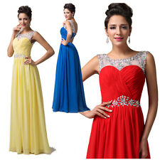 2014 Bridesmaid Evening Formal Party Ball Gown Prom Dresses size 4 6 8 10 12 14+