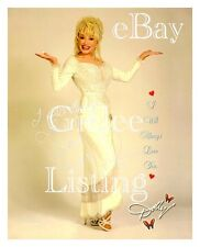 COUNTRY LEGEND DOLLY PARTON DEAN REPRINT SIGNED PHOTO I WILL ALWAYS LOVE YOU