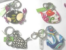 Vera Bradley Keychains ~ -Choice of Patterns Retail $15.00 NWTag