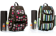 New Fashion Pretty Baby Diaper Nappy Changing Backpack Mummy Bag--CLD6003