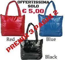 BORSA MODA SHOPPING DONNA IMPERMEABILE