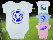 SHEFFIELD WEDNESDAY Football Babygrow/Vest- 4 DESIGNS- Name/Number on back-FREE!