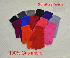 Mongolia Grassland 100% Pure Cashmere Women Signature Touch Gloves--Warm Wool