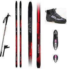 NEW ALPINA ENDURE CROSS COUNTRY XC NNN SKIS/BINDINGS/BOOTS