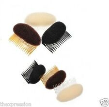 Hair Bump/Bun Shaper with adjustable comb with beehive look