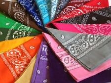 Paisley Bandana Bandanna Headwear/Hair Band Scarf Neck Wrist Wrap Band Headtie