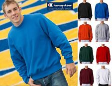 S149 Champion Mens Reverse Weave Long Sleeve Crew Neck Sweat Shirt S-3XL