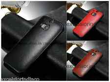 Premium Classic Elegant Leather Back cover case for HTC One M8