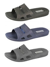 Mens Spot On jelly synthetic mule sandals A0035