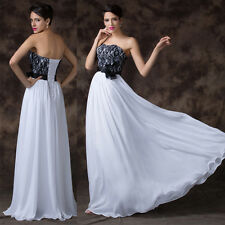 FREE SHIP Chic Sexy Lace Cocktail Bridesmaid Evening Prom Graduation Long Dress