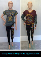 Primark HARRY POTTER HOGWARTS QUIDDITCH Pyjamas Sets T SHIRT, LEGGINGS, JUMPER