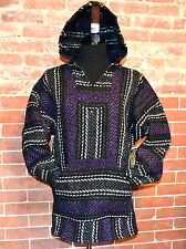 AUTHENTIC BAJA HOODIE SURF/SKATE/BIKE NEW SOFT FEEL SM TO X-LARGE PURPLE