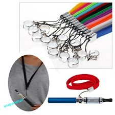 Electronic Cigarette Lanyard Necklace With Ring For EGO E CE4 CE5 Ecig Sling New