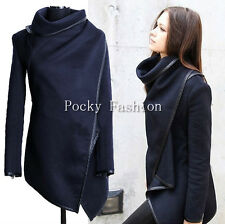 Wool Long Trench Warm Slim Jacket Coat