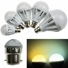 1/2/5/10 X B22 3/5/7/9W LED HIGH POWER lamp warm cool white 2835/5730 SMD light