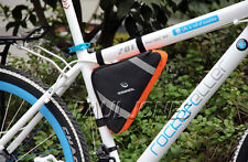 2014 CHEAP! Outdoor Bicycle Cycling Bike Frame Pannier Front Tube Bag Strap bag