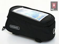 V200UU Cell Phone Cycling Bike Bicycle Frame Front Tube Bag Case Pouch Holder UK