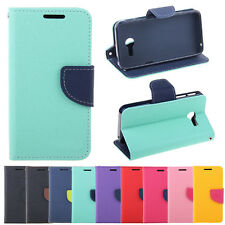 Deluxe Wallet Leather Skin Flip Folio + Tpu Case Cover Stand For ASUS Zenfone 4
