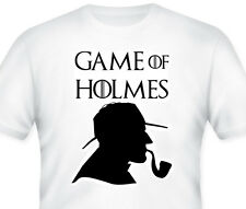 GAME OF HOLMES T-Shirt! Game of Thrones Parody T-Shirts! Quirky tees, Funny, GoT