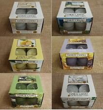 YANKEE CANDLE TEA LIGHTS BOX OF 12  53 Frgrances YOU PICK/CHOOSE ADDED FRAGRANCE