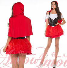 Sexy Women Adult Little Red Riding Hood Costume Set Fancy Party @G5169