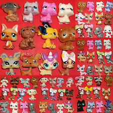 Littlest Pet Shop*12 KITTY CATS or PUPPY DOGS*Bows*HUGE COLLECTION~Pick A Lot