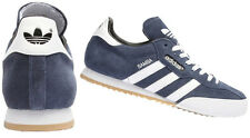 ADIDAS ORIGINALS MENS SAMBA SUPER SUEDE BLUE / WHITE