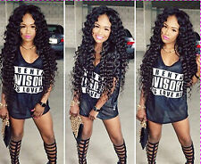 100% Indian Remy Human Hair Loose Wave fashion Full Lace wigs / Lace Front Wigs