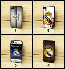 Real Madrid CF Champions League Wodden Effect Case Cover for iPhone Samsung HTC