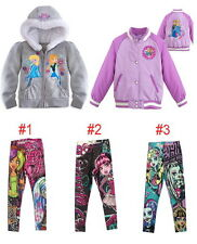 Girls Kids Monster High Jackets Coats Sportswear 6-12Y Outwear Sweatshirt Jumper