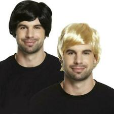 BOY BAND WIG 60S 70S 80S SHORT MALE ADULT GUY WIG FOR A FANCY DRESS IN 2 COLOURS