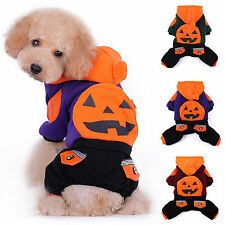 2014 Chic Hallowmas Pet Dog Winter Warm Hooded Clothes Clothing Costume XS~2XL