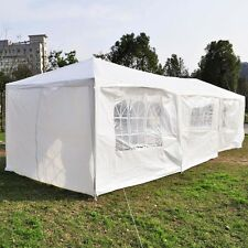 10'x30  3Color 8 cover Outdoor Canopy Party Wedding Tent Heavy duty GazeboPavi