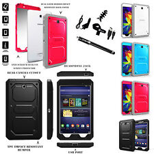 For Samsung Galaxy Tab 4 Nook 7-Inch Full Protective Rugged Case Cover Bundle