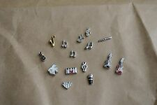 Music Theme Alloy Floating Charm for floating memory glass lockets 1pc