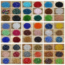 Free shipping! 4 mm Bicone Crystal beads Swarovski gemstone beads  (55 colros)