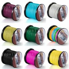 500M/546yds Amy Green 6LBs-100LBs Super Strong Dyneema Braided Sea Fishing Line