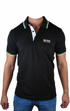 Men's Hugo Boss Paddy Pro Modern Fit Black Polo Shirt 50260312-001