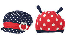 NWT Gymboree SMART LITTLE LADY Size 2T 3T 4T 5T Polka Dot Navy or Sweater Hat