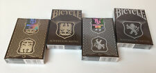 CARTE DA GIOCO BICYCLE SOVEREIGN METAL,poker size