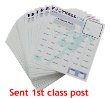 Fund raising Football card Fundraising Scratch Card Charity Fundraiser selet qty