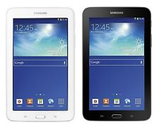 """Samsung Galaxy Tab 3 Lite 7"""" 8GB GPS Wi-Fi Android Tablet SM-T110 -WHITE or GREY"""