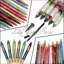 Pro Eyeshadow Eyebrow Lip Liquid Eye Eyeliner Pen Pencil Makeup Cosmetic Set